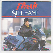 "STEPHANIE Vinyle 45T SP 7"" FLASH - SEGA MAURICIEN -CARRERE 14072 M Moto KAWASAKI"