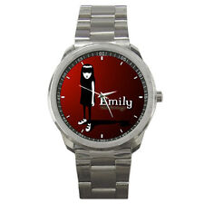 Emily The Strange Stainless Steel Watch