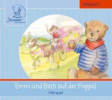 CD Sterntaler Hörgeschichten Emmi und Basti Auf Der Koppel Hörspiel für Kinder