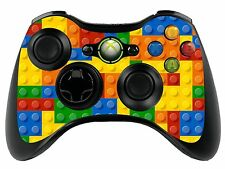 Lego Brick Xbox 360 Remote Controller/Gamepad Skin / Cover / Vinyl Wrap xbr1