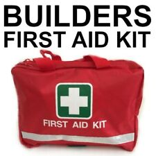 First Aid Bag Filled Builder Trade OHS WHS RED FIRST AID KIT