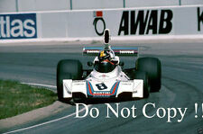 Carlos Pace Brabham BT44B de Martini Racing sueco Grand Prix 1975 fotografía 1