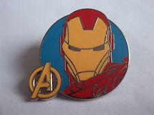Disney's Iron Man Super Hero Pin Badge In Enamel