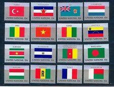UNO New York 16 Flaggen der VN 1980 postfrisch komplett 348 - 363