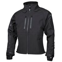 NEU Soft Shell Jacke Protect wasserdicht Outdoorjacke schwarz S-3XL