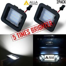 Set of 2,Brightest White LED License Plate Light Assembly Unit,for Raptor Trucks