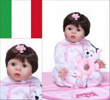 "22"" Lifelike Reborn Baby Doll Vinyl Kids Girl Boy playmate Rinascere Bambino IT"