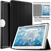 Tab Acer Iconia One 10 B3-A40 10.1 For Flip Folio Smart Leather Stand Case Cover
