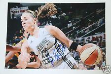 Becky Hammon San Antonio Silver Stars #25 NBA 20x30cm Foto Autogramm / Autograph