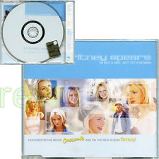 "BRITNEY SPEARS ""I'M NOT A GIRL, NOT YET A WOMAN"" RARE CDsingle 2001 PROMO EU"