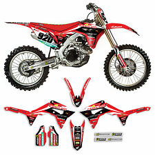 2017 HONDA CRF 450 Team Carglass Dirt Bike Graphics kit Motocross Decal