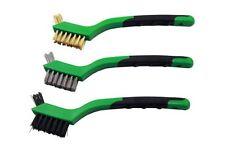 VEWERK BY Bergen 3pc Precision Wire Brush Set NEW 2134