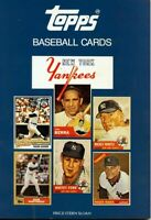 Topps Baseball Cards Book New York Yankees