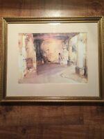 Framed Sir William Russell Flint Print