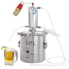 12L Destillieranlage Schnapsbrennen Haus Destille Alkohol Ätherischer Öle DIY