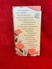 Hallmark Between You & Me Valentine's Day Card w/ Bead Trim