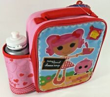 LALALOOPSY KIDS INSULATED LUNCH BAG & DRINK BOTTLE ZAK DESIGNS