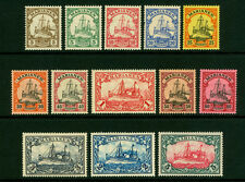 German Colonies - MARIANA ISLANDS 1901  Kaiser's YACHT set  Sc# 17-29  mint MH