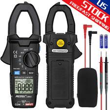 Digital Multimeter Tester Clamp Meter 6000 Counts Handheld Acdc Current Voltage