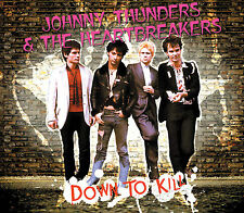 JOHNNY THUNDERS & the HEARTBREAKERS Down To Kill 2xCD+DVD box '76 demos live etc