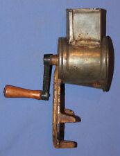 Antique metal nuts food grinder mill