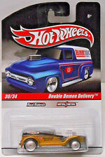 Hot Wheels Slick Rides Kendall Motor Oil DOUBLE DEMON DELIVERY Black/Gold w/RRs