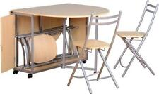 Space Saving Up to 4 Seats Table & Chair Sets