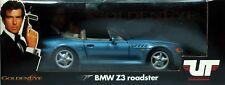 12 UT MODELS GOLDEN EYE BMW Z3 ROADSTER BLEUE