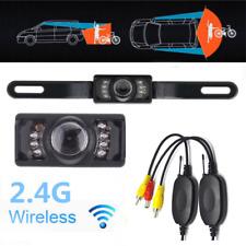 Wireless Car Rear View Backup Camera System Night Vision Waterproof 170 Degree