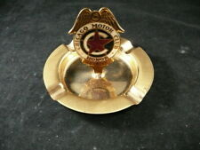 Vintage Chicago Motor Brass Ashtray