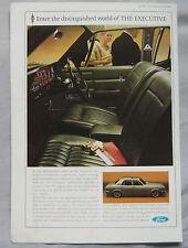 1966 Ford Executive Original advert No.1