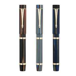 MAJOHN M700 Resin Fountain Pen BOCK Fine Nib #6 Luxury Pen Writing Gift Pen
