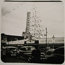VINTAGE ANTIQUE STREET PHOTOGRAPHY UPTOWN CHICAGO? GENERAL MOTORS SIGN IL PHOTO