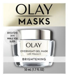 Olay Mask Brightening Overnight Gel Mask, 1.7 OZ