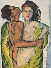 """PAINTING MOSER LOVERS 12x16 """" POSTER ART PRINT HP3388"""