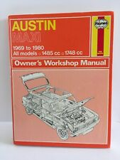 HAYNES SERVICE & REPAIR MANUAL. AUSTIN MAXI 1969-80