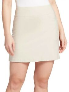 Lady Hagen Women's Golf Tennis Skirt Size XL 16 Khaki, NWT!
