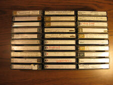 Recordable 90 Min. audio cassette tapes lot of 36 in Display Case