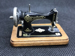 Bodo Hennig 1/12th Scale Sewing Machine. For Doll's House.