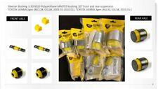 PU Suspension Bushing Master Set 1-30-S015 compatible with TOYOTA SIENNA
