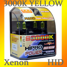 H1 55W 3000K GOLDEN YELLOW XENON HID HALOGEN HEADLIGHT BULBS - LOW BEAM