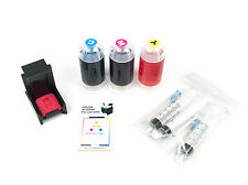 InkPro Tri-Color Ink Cartridge Refill Box Kit for HP 110