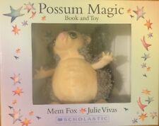 BOOK & PLUSH TOY GIFT SET POSSUM MAGIC ~ NEW ~ PAPERBACK