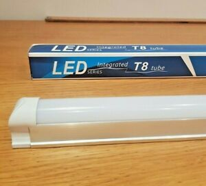 T8 Led tube fluorescent light batten fitting single 4FT 120cm - L1016
