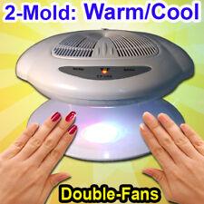 2 in 1 Nail Art Finger Varnish Dryer Polish Warm Cool Blower Fan Breeze Sensor