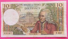10 FRANCS  VOLTAIRE  du 05 / 04 / 1973  K