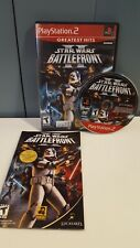 Star Wars: Battlefront II GREATEST HITS (Sony PlayStation 2) PS2 GAME COMPLETE