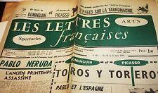 LES LETTRES FRANCAISES No. 867, du 16 au 22 mars 1961