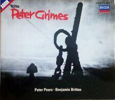 Britten: Peter Grimes 3CD Box Set Decca 414 577-2 (Peter Pears)