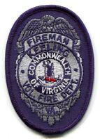 Keeling Volunteer Fire Department Fireman Dept FD Rescue EMS Patch Virginia VA -